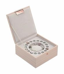 Pudełko na bransoletkę i charmsy Stackers podwójne jasnoróżowe