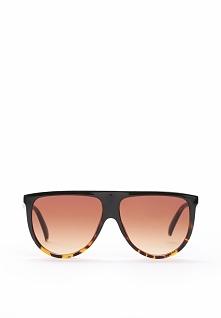 Czarno-Pomarańczowe Okulary Lilly