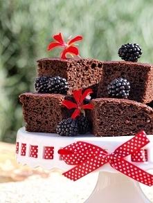 Brownie z cukinią (beztłusz...