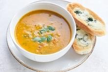 Sezon na cukinię czas zacząc! :D -przepyszna zupa z cukinii i pomidorów z dodatkiem kurkumy