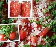 Pomidory krojone z czosnkie...