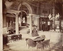 CUKIERNIA W HOTELU EUROPEJSKIM, WARSZAWA, ok.1873 r.