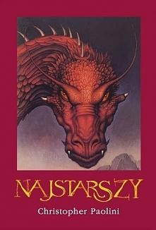 Najstarszy - Christopher Paolini Druga część Eragona   Zapada mrok... w sercach wzbiera rozpacz... zło triumfuje... Zaledwie kilka dni temu Eragon i jego smoczyca Saphira ocalil...
