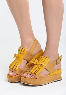 Żółte Sandały Stormcloud
