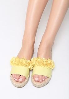 Żółte Klapki Bonbon
