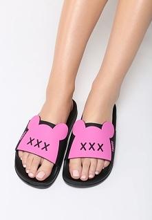 Fuksjowe Klapki Minnie's Shoes