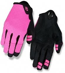 GIRO Rękawiczki rowerowe damskie LA Dnd długi palec różowe r. S (GR-7085598)