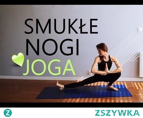 Joga na Smukłe Uda ♥ 10-minutowy Trening Nóg