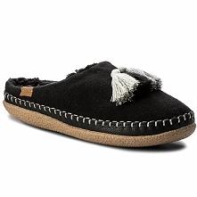 Kapcie TOMS - Ivy 10010879 Black Wool/Tassels