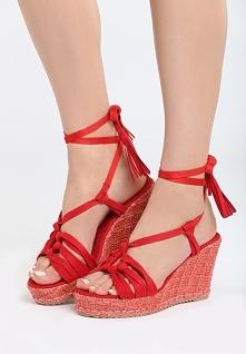Czerwone Sandały Tangelo