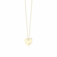 Wspaniały Naszyjnik - złoto żółte 375, Brylant 0,01ct