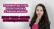 """Kurs video """"Matura z angielskiego"""" - Anna Szpyt  Kurs """"Matura z angielskiego"""" jest kombinacją ponad dwóch godzin video oraz kompatybilnego z nim podręcznika,..."""