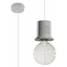 Lampa Wisząca Bono SL.0283 SOLLUX Szary Beton Lampa sufitowa wisząca sprawdzi się przede wszystkim jako oświetlenie główne. Wzory oferowanych przez nas opraw możesz bez przeszkó...
