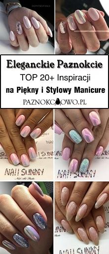 Eleganckie Paznokcie: TOP 20+ Inspiracji na Stylowy i Modny Manicure