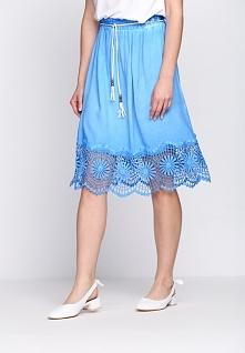 Niebieska Spódnica Thyme