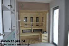 Sauna Design. Producent TAP...