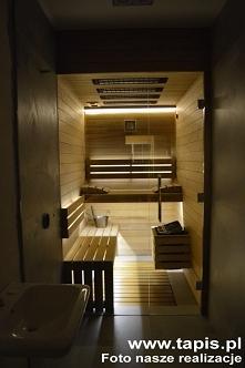 Łazienka z sauną Design. Pr...