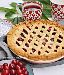 Ciasto z dużą ilością wiśni – CHERRY PIE. Przepis po kliknięciu w zdjęcie.