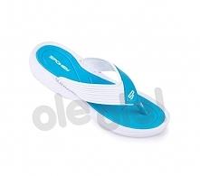 Spokey Chillout - klapki basenowe damskie r.40 (niebiesko-biały)