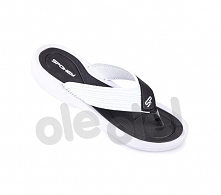 Spokey Chillout - klapki basenowe damskie r.36 (czarno-biały)