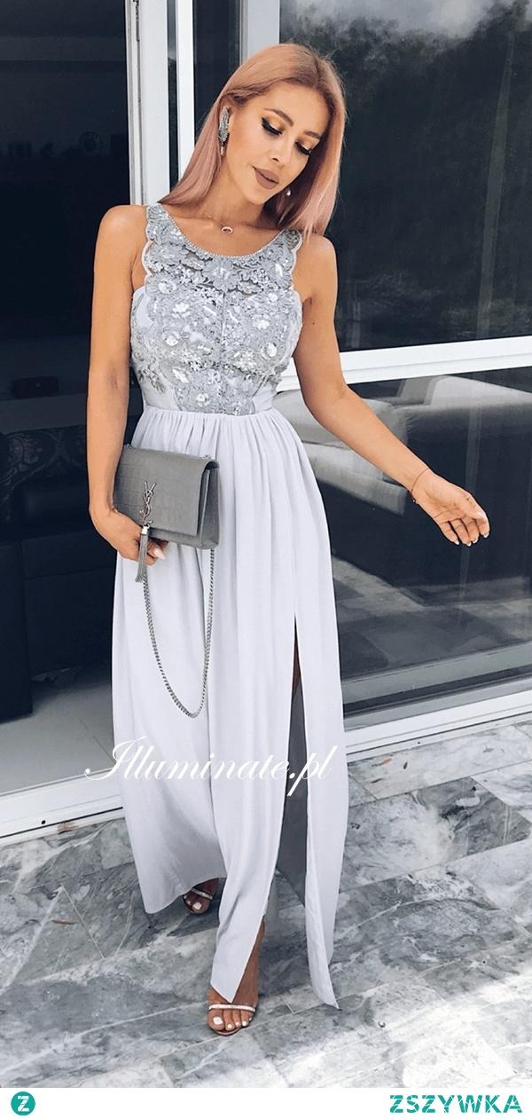 Piękna długa sukienka z kolekcji Illuminate <3 Idealna dla druhny <3