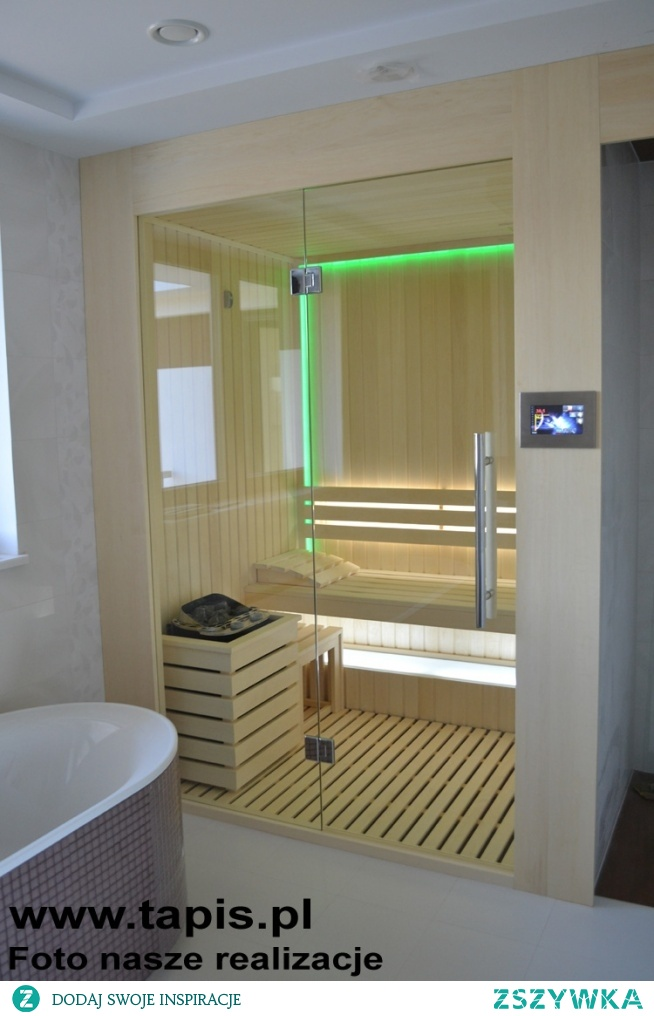 Sauna w łazience. Producent: TAPIS.PL