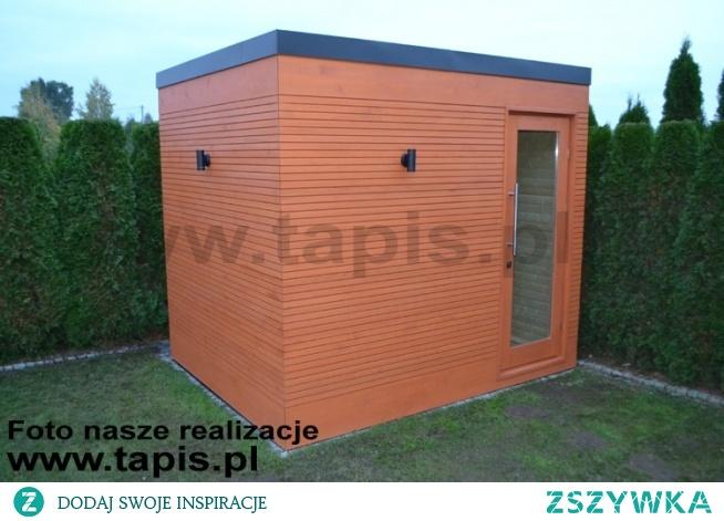 Domek saunowy DRACO z przedsionkiem. Producent: TAPIS.PL