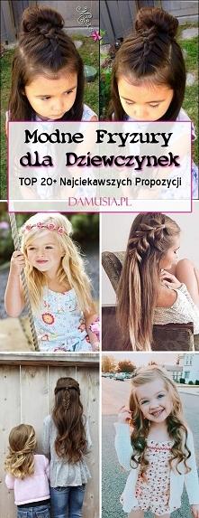 Modne Fryzury dla Dziewczynek: TOP 20 Najpiękniejszych Inspiracji dla Twojej Córeczki