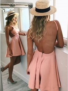 Fit & Flare Boat Neck B...