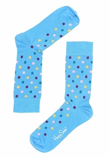 Niebieskie Skarpetki Dot Happy Socks