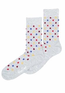 Szare Skarpetki Dot Happy Socks