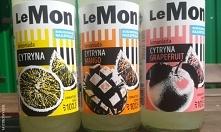 Lemoniada z Lidl LeMon w trzech różnych smakach. Recenzja we wpisie.