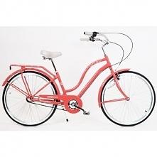 Rower Miejski Damski Amour 26 Czerwony 3 Biegi HelloBikes