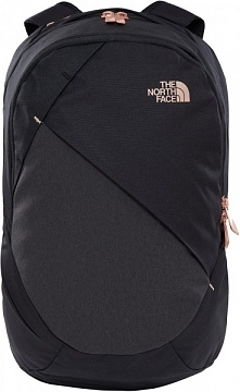 The North Face Plecak W Isabella Tnf Black Heather/Burnt Coral Metallic