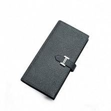 Sammons Elegancki skórzany portfel męski Grafitowy  (350056-11)