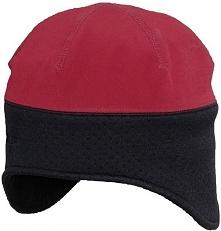 Viking Czapka męska Softshell czerwono-czarna  r. 60 (235/13/2119)
