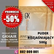 Global Keratin GK Hair puder rozjaśniający Juvexin 500g lightening powder - s...