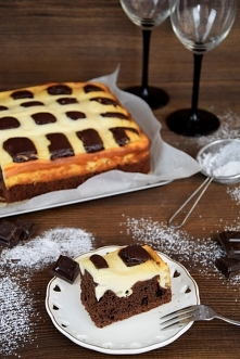 Ciasto czekoladowe poduszko...