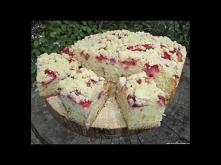 Ciasto maślankowe z truskaw...
