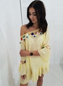 Bluzka/tunika LOLA żółta. O...
