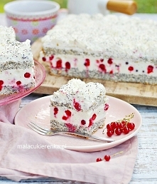 Ciasto Maczek Porzeczkowy. ...