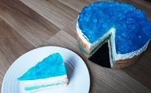 Ciasto Błękitna Góra Lodowa