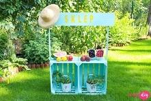 Sklep do zabawy dla dzieci zrób to sam. Wpadaj na bloga twojediy.pl i zobacz jak go zrobić.