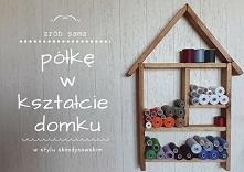 Półka w kształcie domku - H...