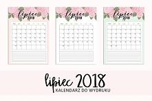 Kalendarz-planer na lipiec ...