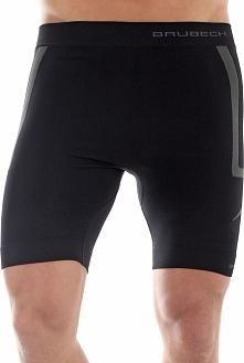 Brubeck Spodenki męskie Fitness czarne r. XL (LB10070)
