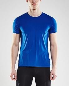 Craft Koszulka męska Essential SS 1906052 - 367000 Blue r. M