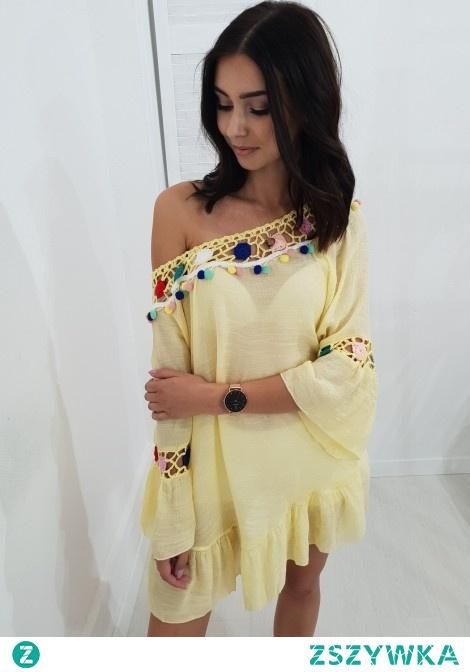 Bluzka/tunika LOLA żółta. Ottanta - sklep online