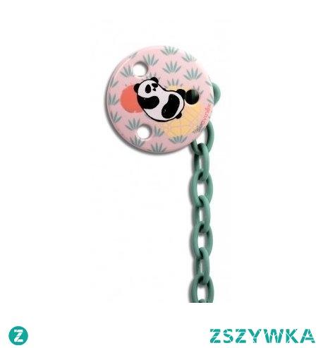 Witajcie, już więcej się nie zgubi:)  Okrągły klips do smoczka panda od Suavinex dla dzieci już 0m+, o długości plastikowej zawieszki 23cm.   Wykonany z materiału Klips niezawierającego bisfenolu A, zapakowany w ładne, plastikowe opakowanie.   Dostępny w 2 kolorach: niebieskim i różowym.  Panda tylko wygląda na przejedzoną:)
