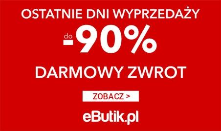 eButik - wyprzedaże -80% lipiec 2018 Desktop